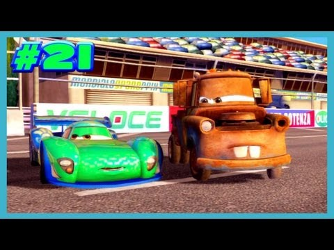 CARS 2 The Video Game Unfriendly Competition as MATER Clearance 4 By Disney Cars Toy Club