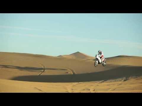 Kuba Przygoński na treningu w Maroko 11.2013 - kilka skoków