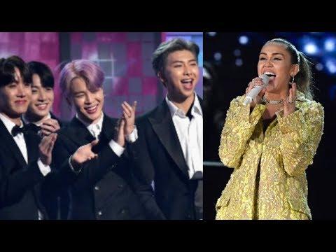 Famous People Reacting to Miley Cyrus!!!! (BTS, Nicki Minaj, Selena Gomez...)