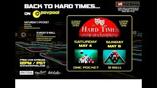 """Back to Hard Times - 9-Ball"" / May 2019"