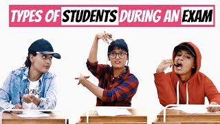 Types Of Students During An Exam