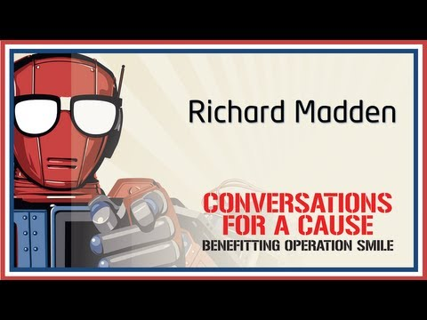 Conversation with Richard Madden - Nerd HQ (2013) HD