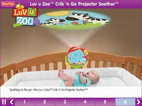 Luv U Zoo Snuggle Cub Soother Mobile