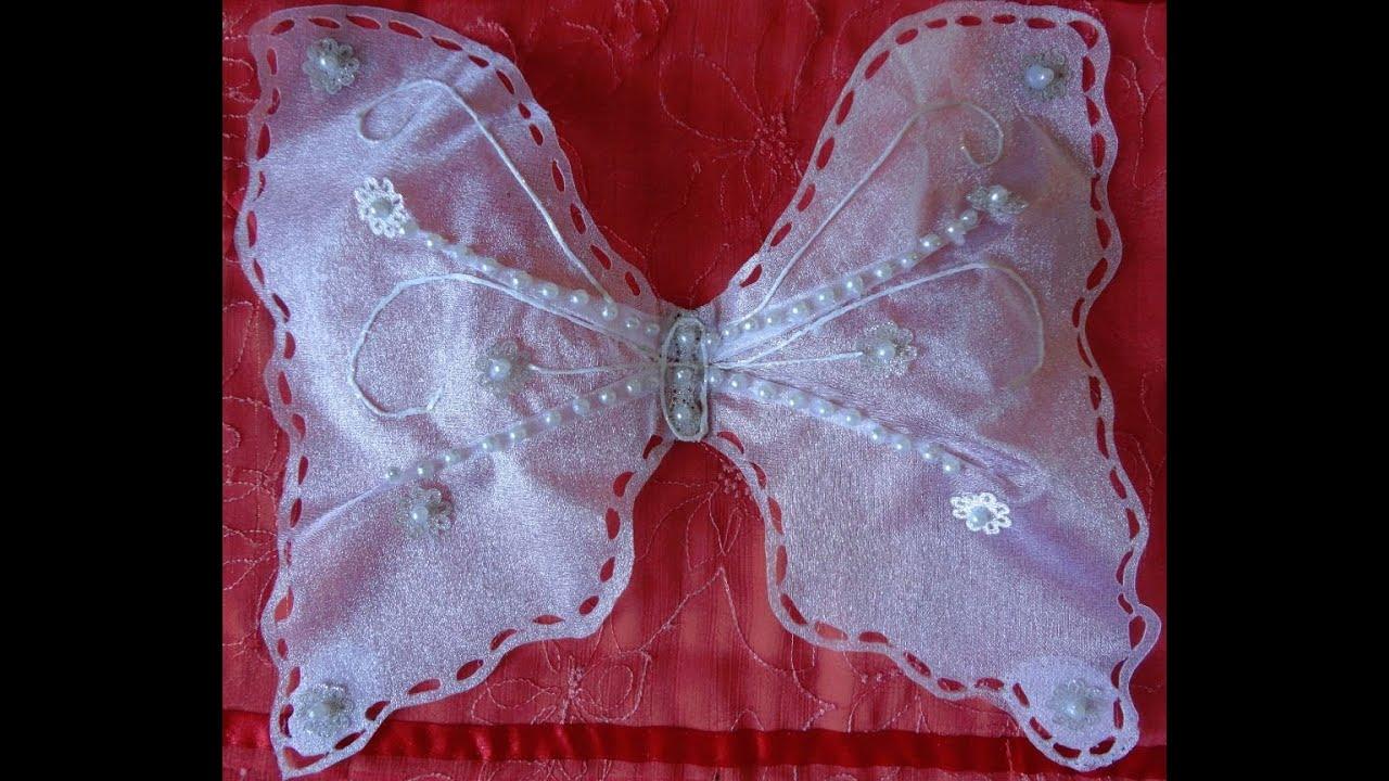 Крылья бабочка своим руками 571