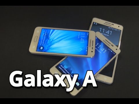Coup d'oeil sur les smartphones Galaxy A de Samsung