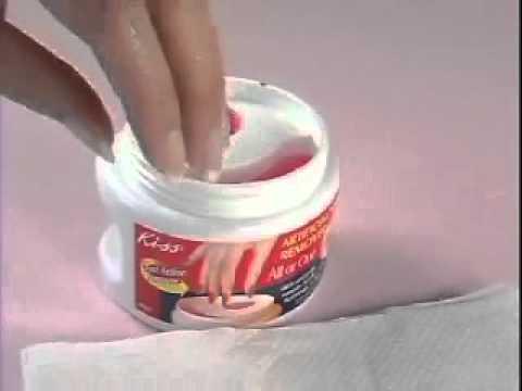 Способ удаления (снятия) накладных ногтей с клеем