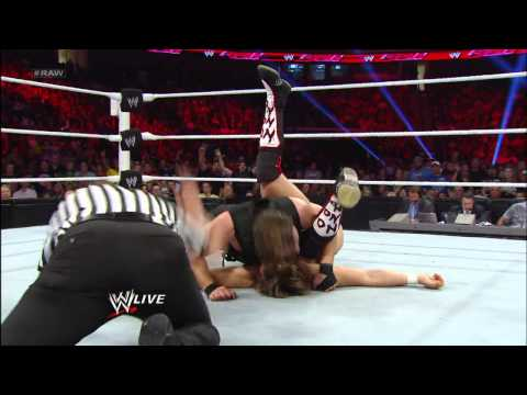 John Cena & Team Hell No vs. The Shield - Elimination 6-Man Tag Team Match: Raw, May 13, 2013