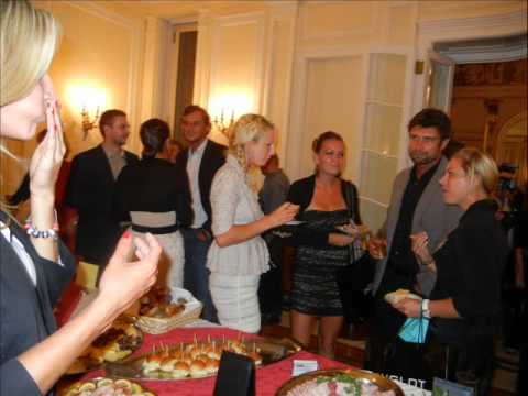 Caroline Wozniacki at the Polish Consulate in NYC.wmv