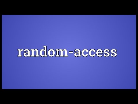 Header of Random-Access