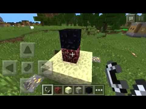 How to summon herobrine in minecraft PE 0.9.0