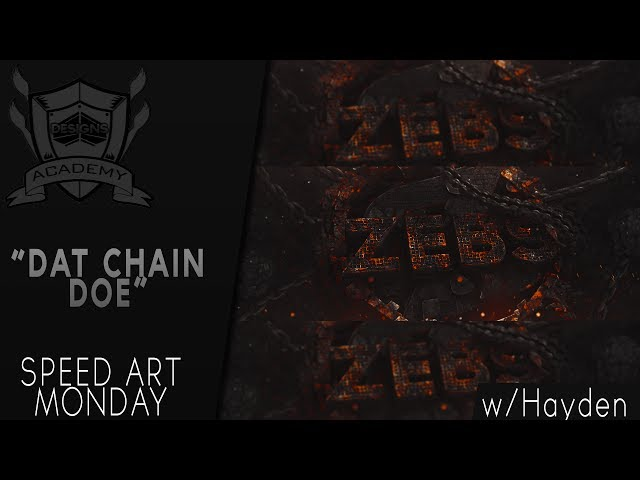 Speed Art Monday New ZeBs  Banner | By: Hayden