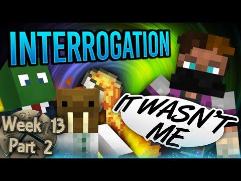 Minecraft Cornerstone - Interrogation (Week 13 Part 2)