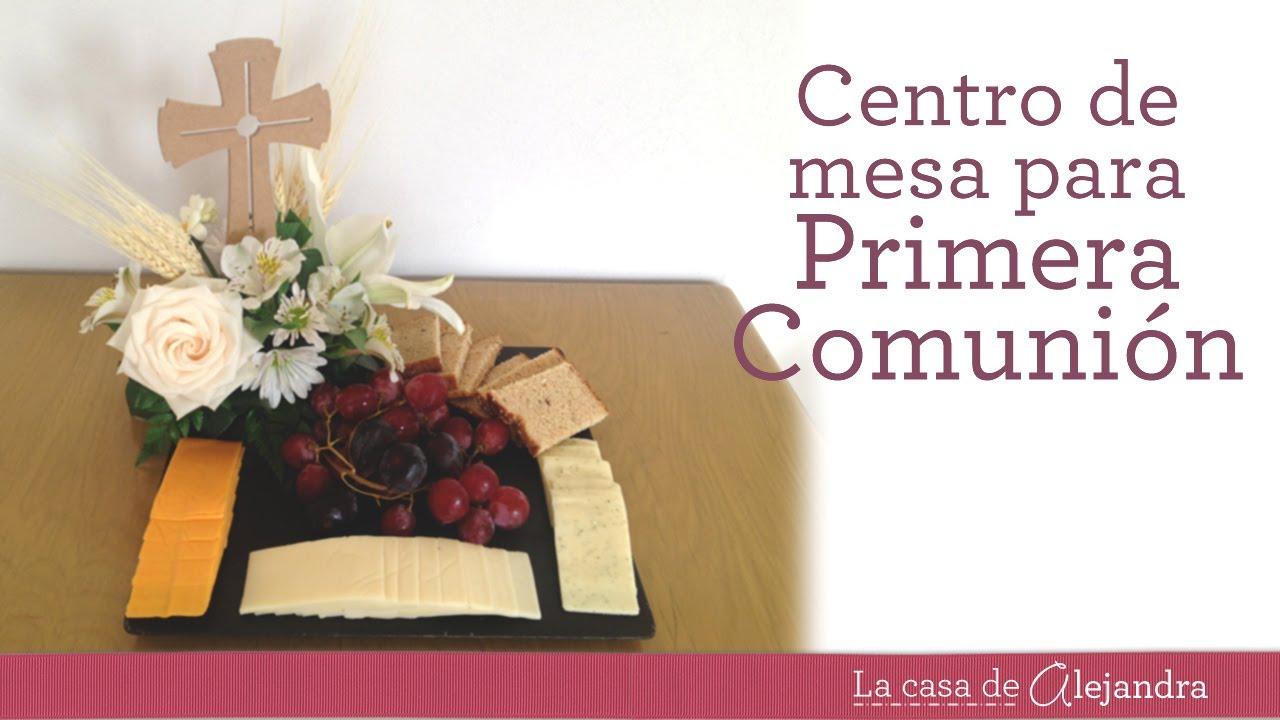Centro De Mesa Para Primera Comunion