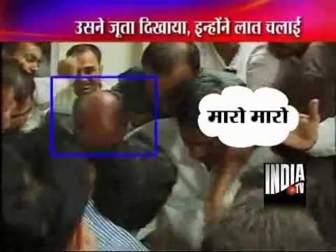 Digvijay Singh Kicked Assailant Sunil Kumar
