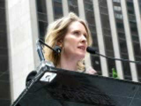 Pro-gay rally: Actor Cynthia Nixon on opposition to marriage equality