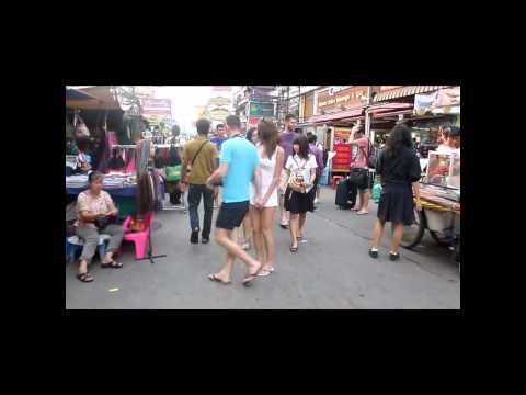 Khao San road – Afternoon Walk – Bangkok Thailand