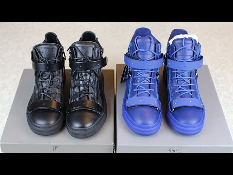 How To Spot Fake Giuseppe Zanotti Sneakers | Authentic vs Replica Giuseppe Zanotti