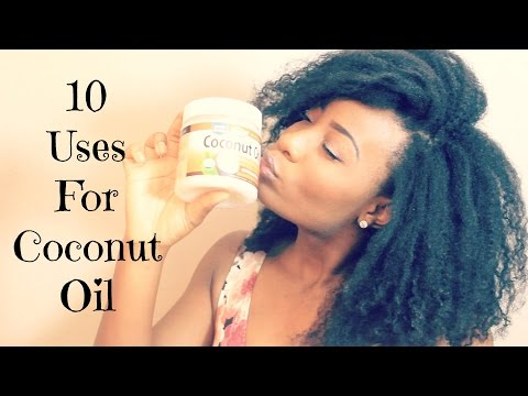 10 Practical Uses For Coconut Oil!!!