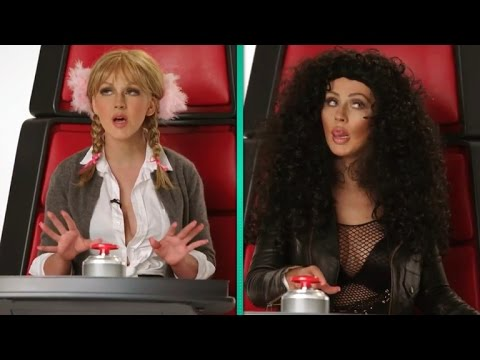Watch Christina Aguilera Impersonate Miley Cyrus, Cher and More!