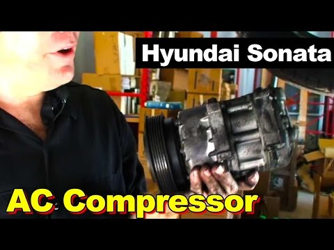 2006 Hyundai Sonata AC Compressor Replacement