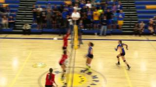 Liberty vs Rampart girls volleyball full game broadcast