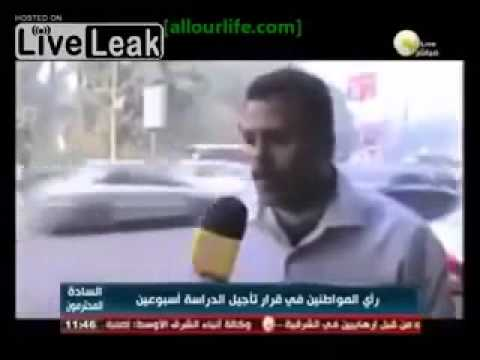 Egyptian Guy Ending the interview Like a Boss