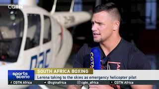 IBO Champion Kevin Lerena speaks exclusively with CGTN
