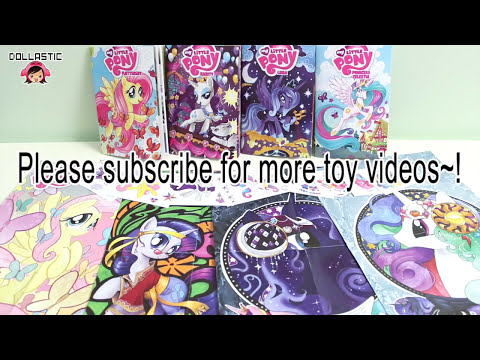 My Little Pony MLP : Micro-Comic Fun Packs!!!