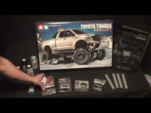 RC ADVENTURES - 2.2 TAMIYA HIGH LIFT 4X4 CUSTOM BUILD VIDEO SERIES  # 2