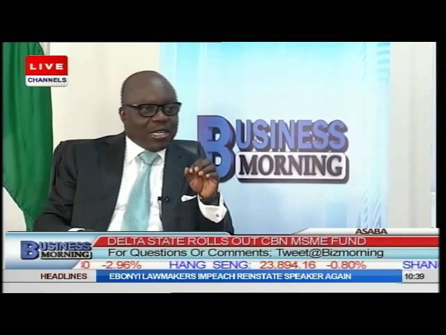 Business Morning: MSME Fund Will Exist As Long As Delta Does - Gov Uduaghan