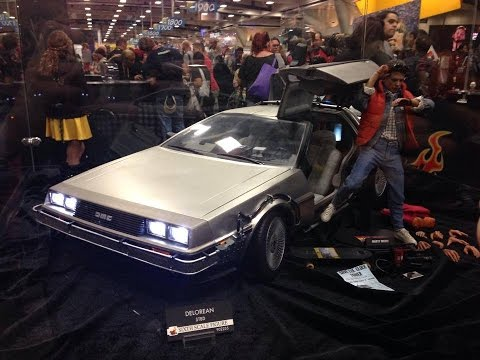 Hot Toys Back To The Future, Aliens, Predator & Video Game San Diego Comic-Con 2014 Display