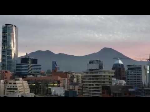 AMANECE EN SANTIAGO DE CHILE