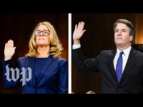 Ford, Kavanaugh both '100 percent' certain of their testimonies