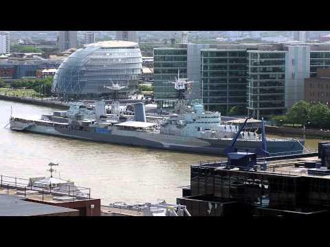 HMS Belfast Canary Wharf London