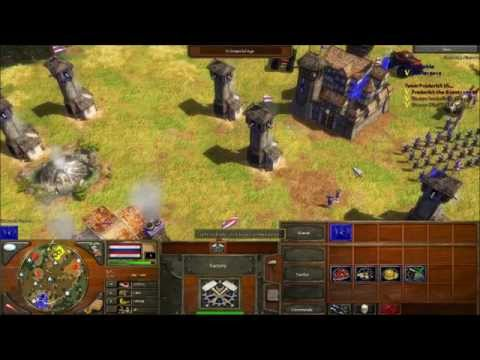 Age of Empires III - Fun with CHEATS! (Part 1)