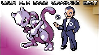 Pokemon UltraSun & UltraMoon - Battle! R.R Boss Giovanni [8bit]