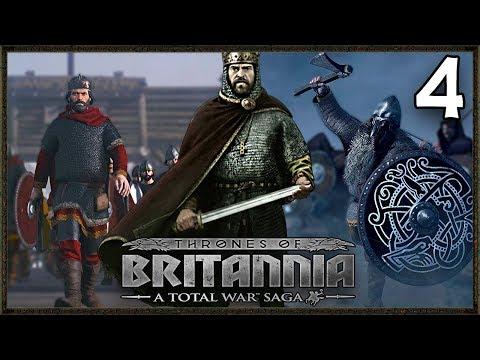 The Last Viking King! - Total War Saga: Thrones Of Britannia Gameplay Wessex Campaign #4