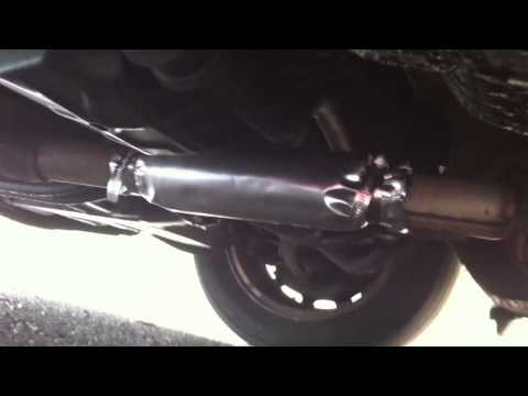 How to repair your blowing car exhaust - Easy DIY fix