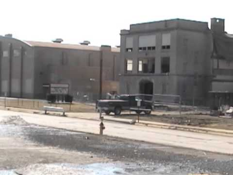 Struthers High School Demolition