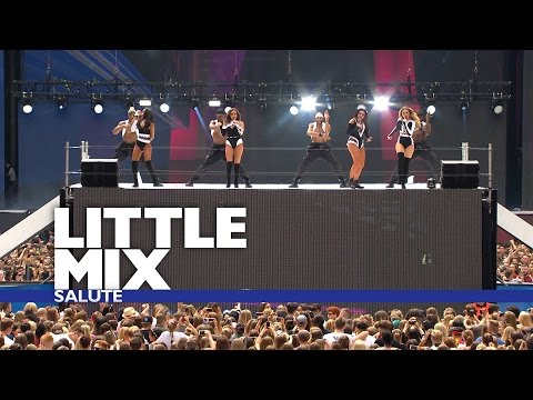 Little Mix - 'Salute' (Live At The Summertime Ball)