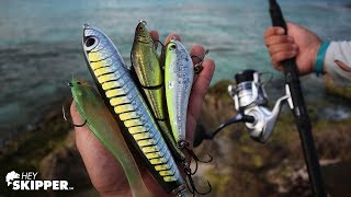 Testing Popular Beach Fishing Lures on a Tropical Beach!