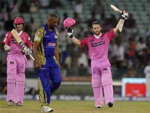 Kane Williamson Hitting 101 of 49 Balls Northen Knights win vs Cape Cobras Highlight CLT T20 2014