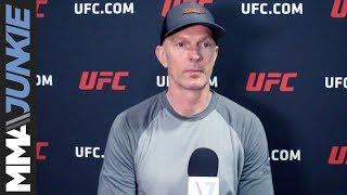 UFC 236: Jeff Novitzky full MMA Junkie interivew after ceremonial weigh-ins