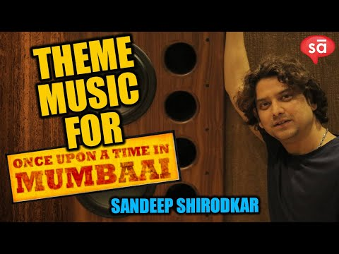 Ajay Devgan's Theme Music In Once Upon A Time In Mumbaai, By Sandeep Shirodkar video