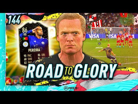 FIFA 20 ROAD TO GLORY #144 - HE'S A FREE KICK WIZARD!!