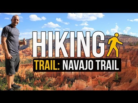 Hiking the Navajo Trail - Bryce Canyon National Park - UTAH