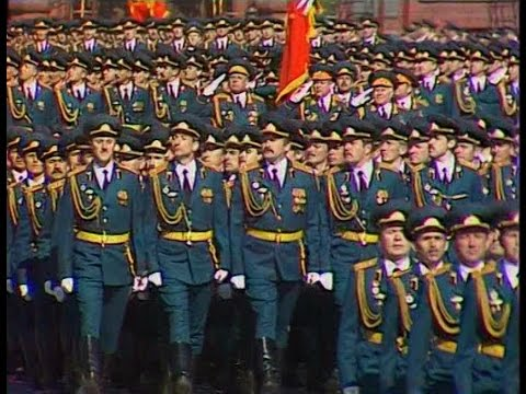 HD Soviet Army Parade, Victory Day 1990 Парад Победы