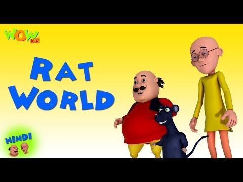 Rat World - Motu Patlu in Hindi WITH ENGLISH, SPANISH & FRENCH SUBTITLES thumbnail