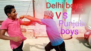 Delhi boys Vs Punjabi boys funny  full video || Ms comedy club