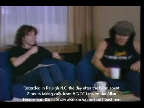 AC/DC's RARE Interview with Angus Young&Brian Johnson 1983